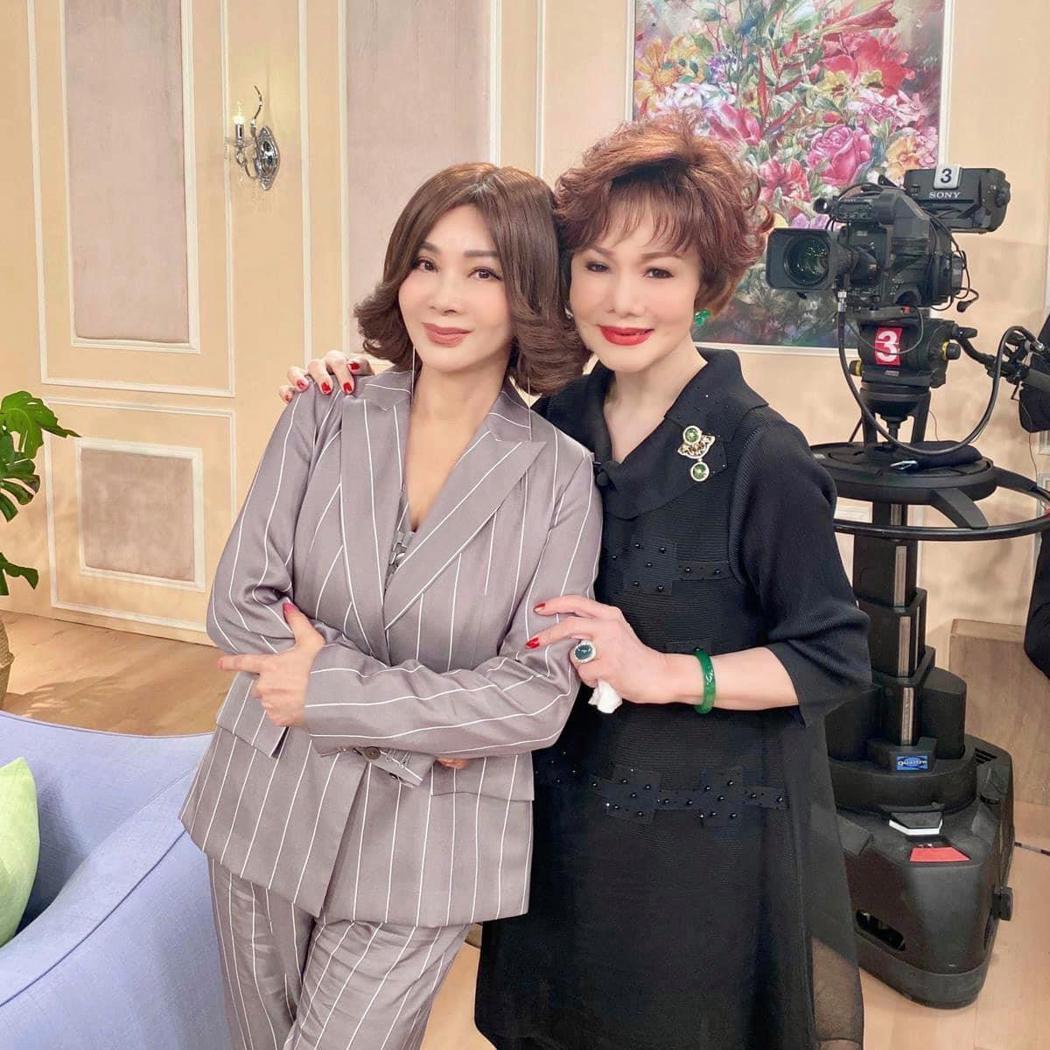 陳美鳳與貝蒂。圖/擷自臉書