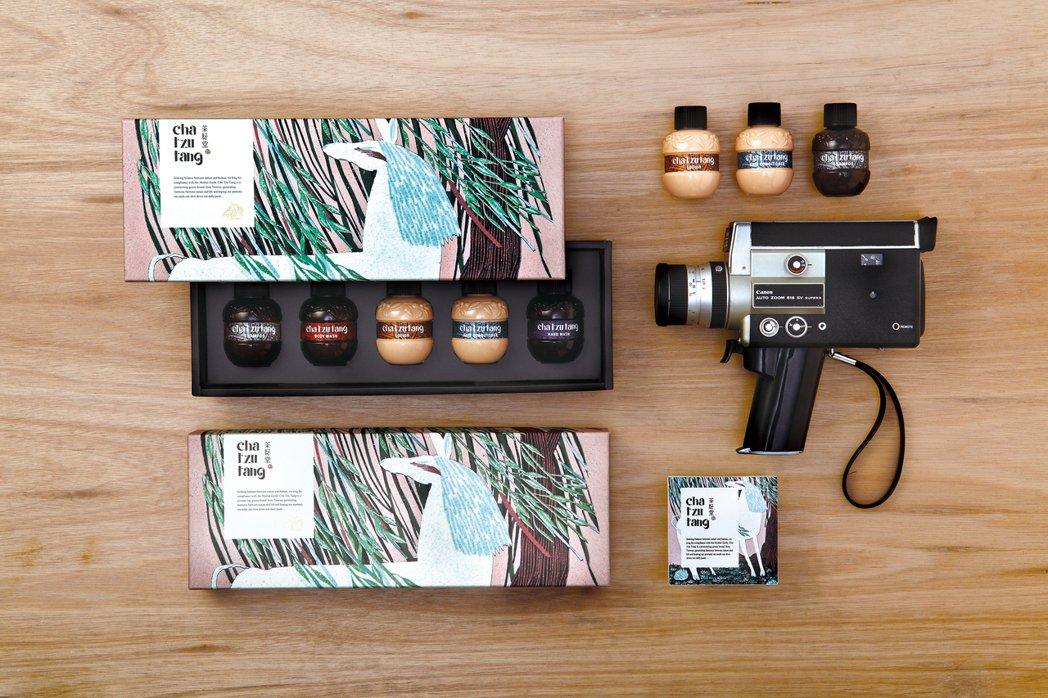 2014年「茶籽堂」被金馬51看見,推出聯名禮盒,當作指定貴賓贈禮。照片提供/茶...