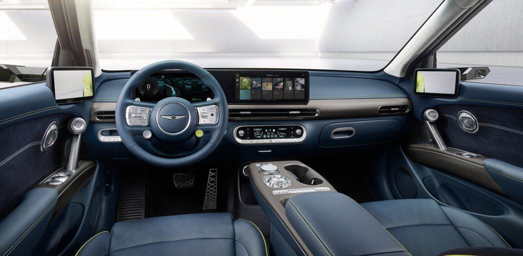 全新Genesis GV60車室內充滿了不少圓形元素。 摘自Genesis