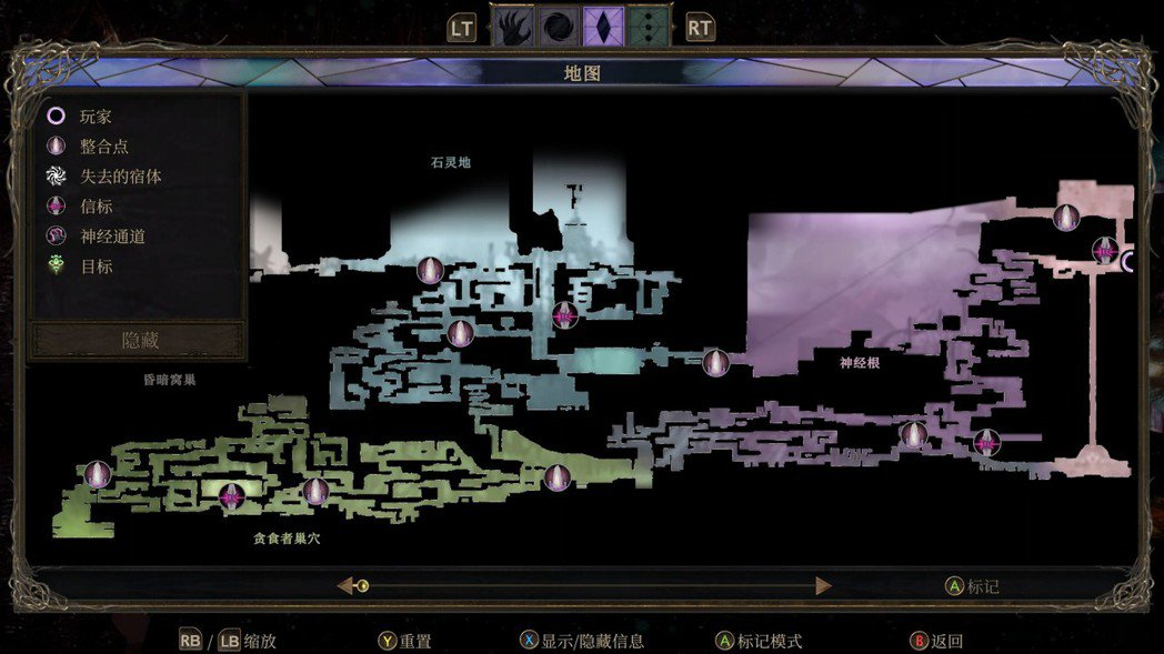 遊戲的最大縮放,還無法一覽地圖全部