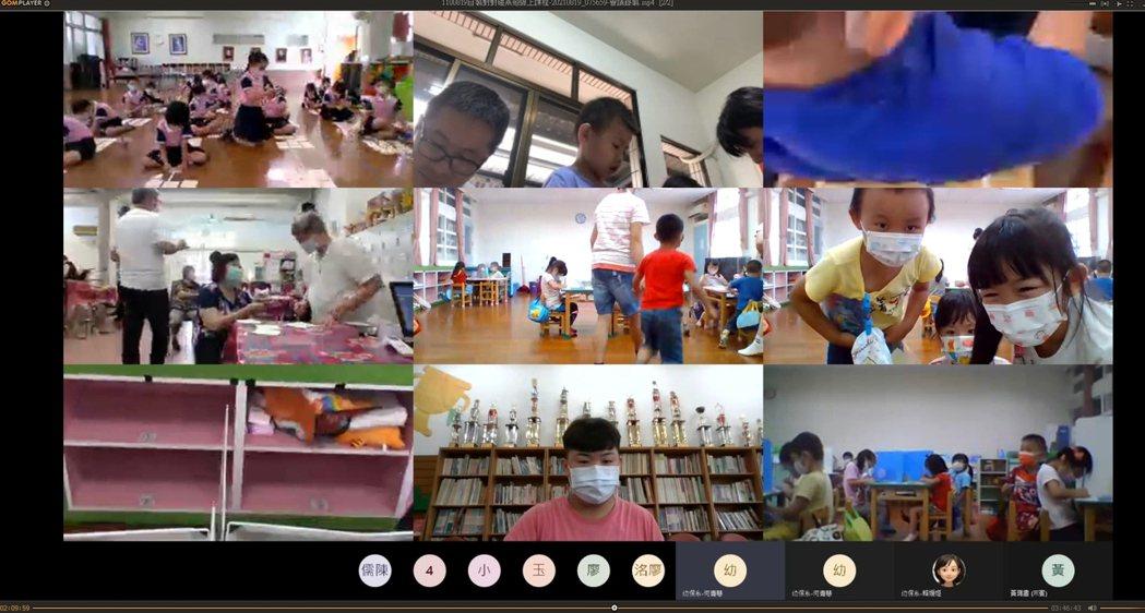 吳鳳科大幼保系師生透過線上互動的方式,將生活素材融合活化、就地取材,製作親子老幼...