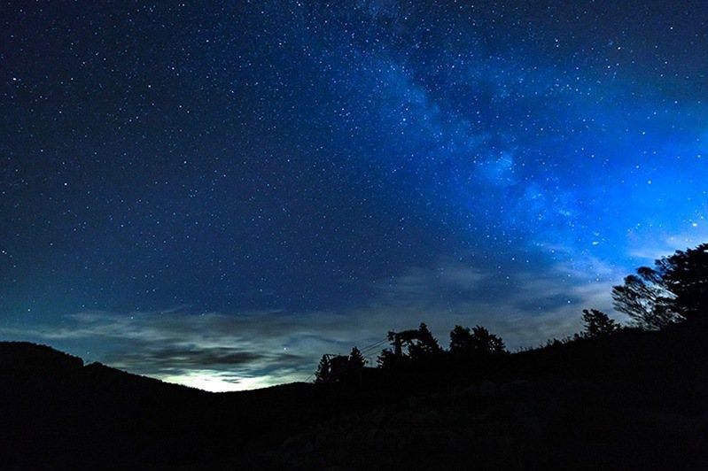 圖:竜王マウンテンパーク/來源 ▲夜晚還有美麗星空陪伴入睡。