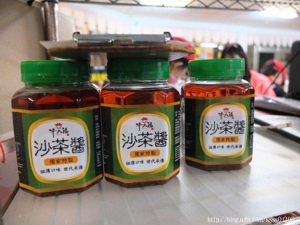 難忘的美味還有這個獨家秘方調配的祖傳沙茶醬,沒人工香料也沒有色素防腐劑