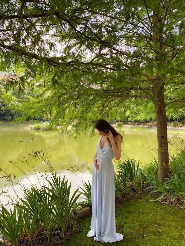 瑞莎開心宣布懷第二胎。圖/摘自臉書