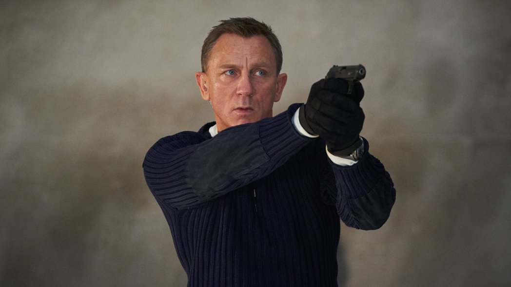 丹尼爾克雷格年底將帶來最後一部007電影「007生死交戰」。圖/UIP提供
