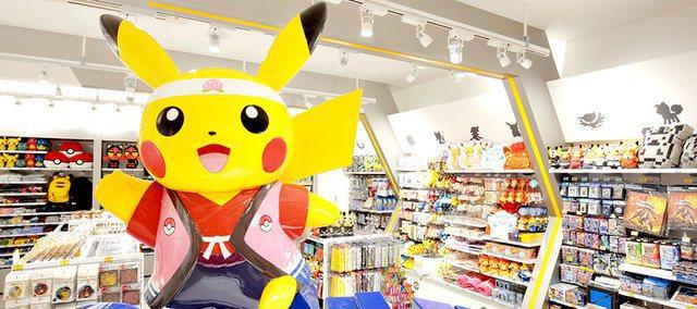 日本近來關閉多家寶可夢商店,令許多粉絲不捨。圖為AEON mall岡山店。圖擷取自twitter