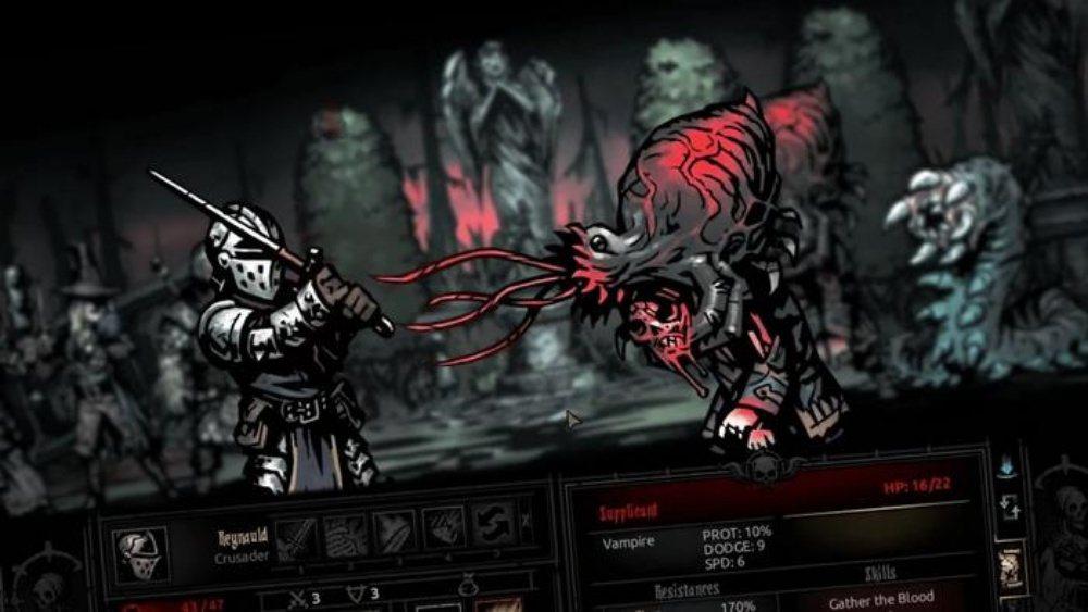 《暗黑地牢》,一款充滿地獄色彩RPG