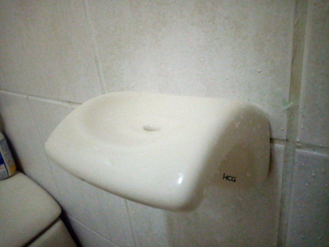 還有人PO出肥皂台的照片。 圖/翻攝自「裝潢DIY研究室」