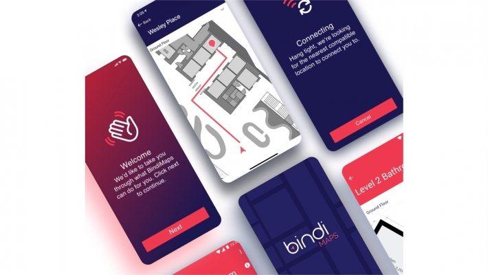 BindiMaps app。 圖/BindiMaps粉絲專頁