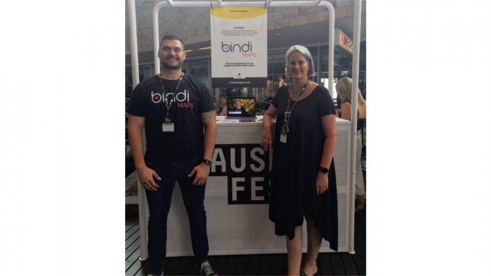 BindiMaps的共同創辦人Mladen Jovanovic與 Anna Wr...