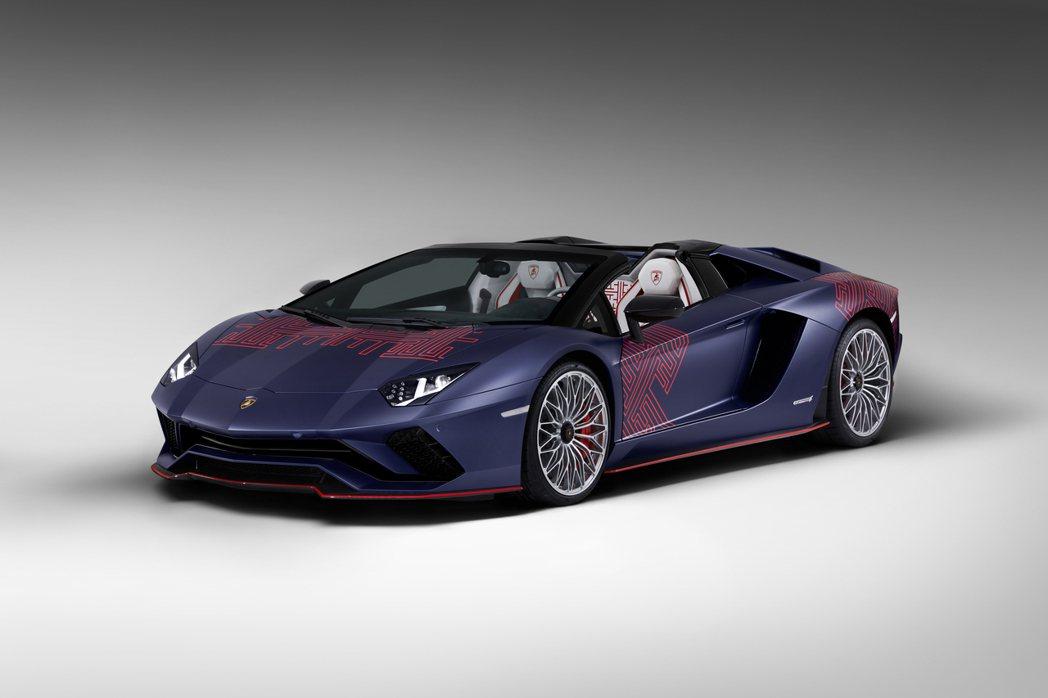 只限量兩台的Lamborghini Aventador S Roadster K...