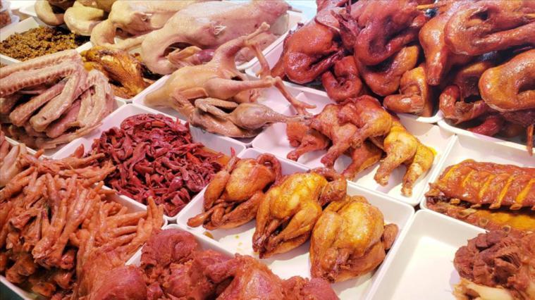 盤點菜市場最髒的菜:滷味。圖/好看視頻