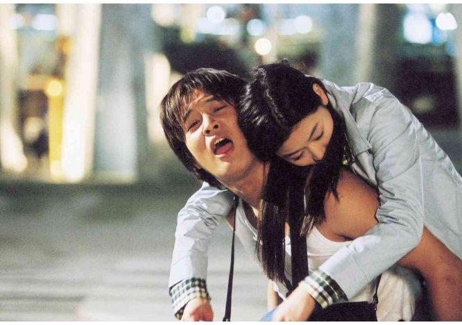 《我的野蠻女友》中車太鉉飾演的牽牛堪稱「初代工具人」。圖/取自鴻聯國際官網