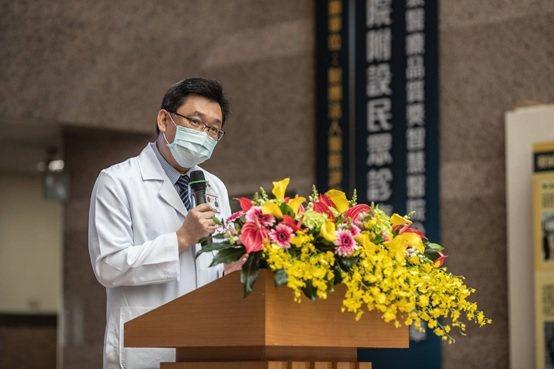 三軍總醫院少將院長王智弘醫師。 三軍總醫院/提供