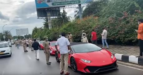 逃稅還敢辦車聚?12輛超跑與豪車遭印度當局扣押!