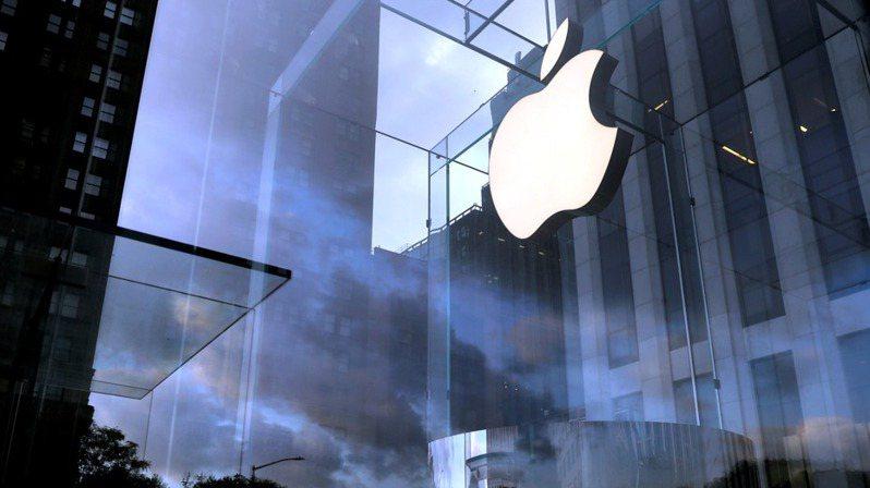 蘋果示意圖。 路透