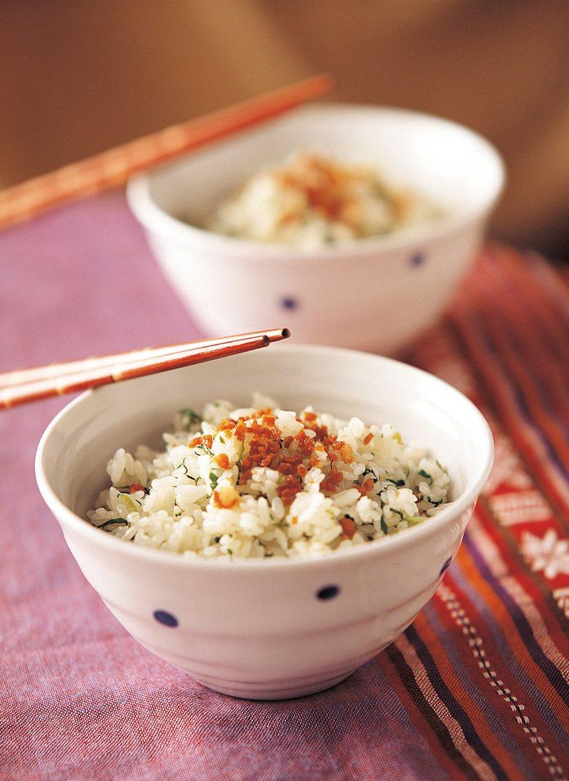 上海菜飯。圖/朱雀文化 提供