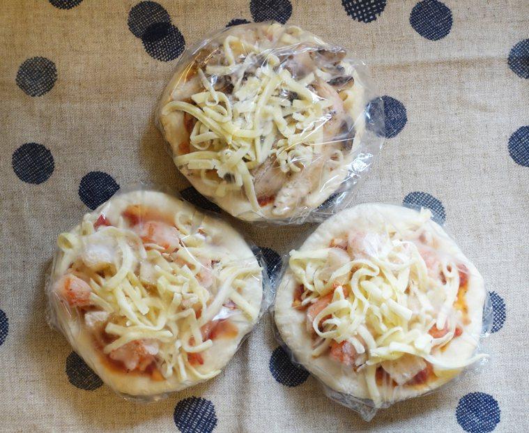 冷凍披薩 圖/太陽臉提供