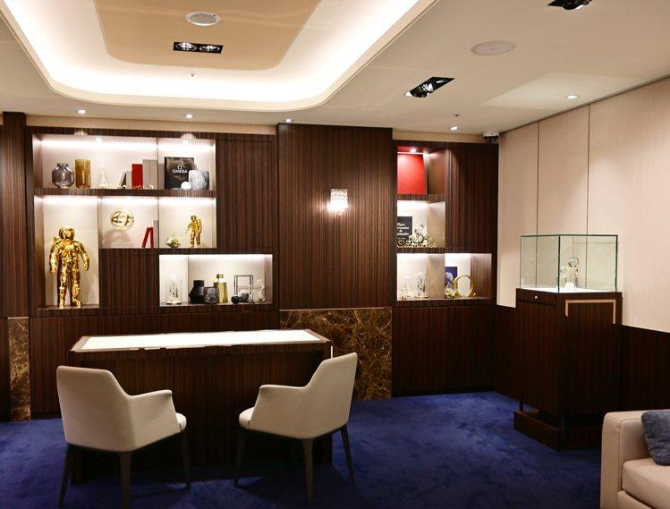 位於中山商圈的高登鐘表台北老爺形象店,帶來猶如日式高級飯店的精緻服務。圖 / O...