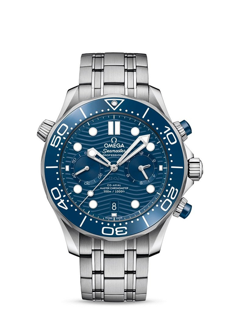 OMEGA海馬潛水300米系列同軸擒縱44毫米大師天文台計時腕表,24萬4,00...