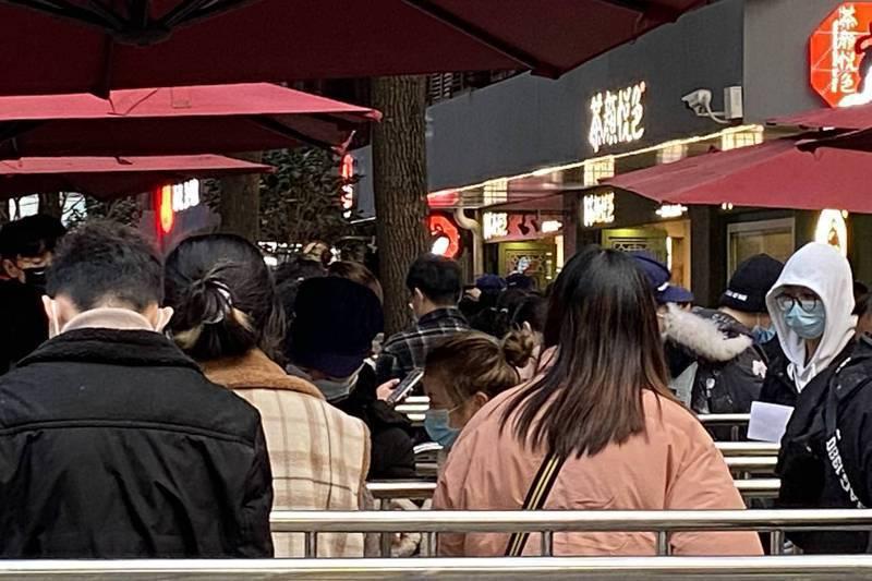 北京開店成本太高,以及競爭過於激烈,外地網紅店要赴北京開店,需再三考慮。圖/聯合報系資料照片