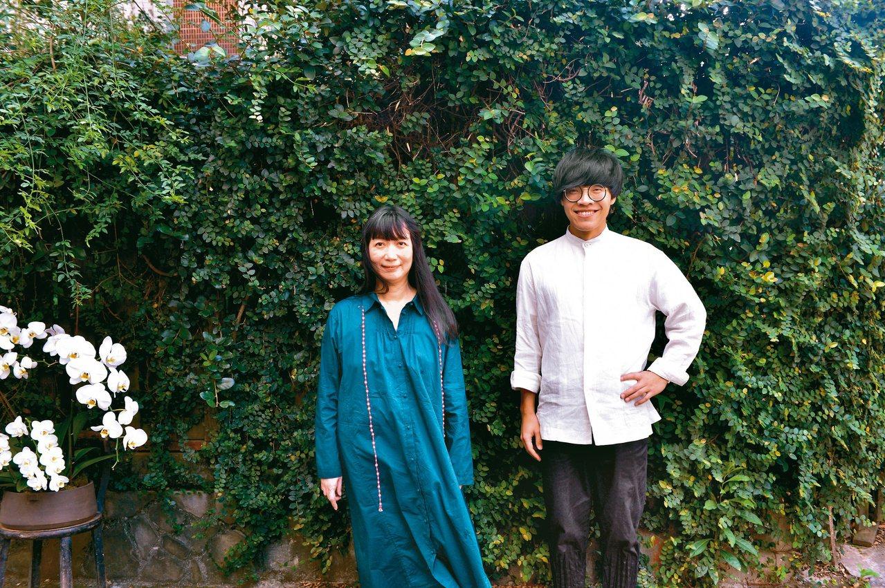 歌手盧廣仲(右)是蔡璧名粉絲,為了學太極拳拜蔡璧名為師。圖/蔡璧名提供