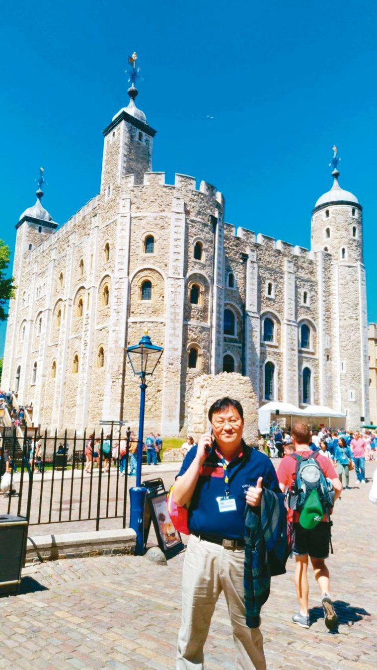 莊文嘉喜歡出國旅遊走走散心,平均每年出國一次。圖/莊文嘉提供