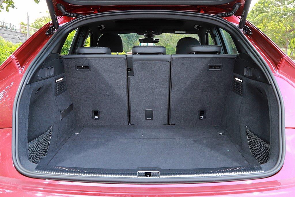 Audi Q5 Sportback滿座之下具備510L空間表現,相比標準版Aud...