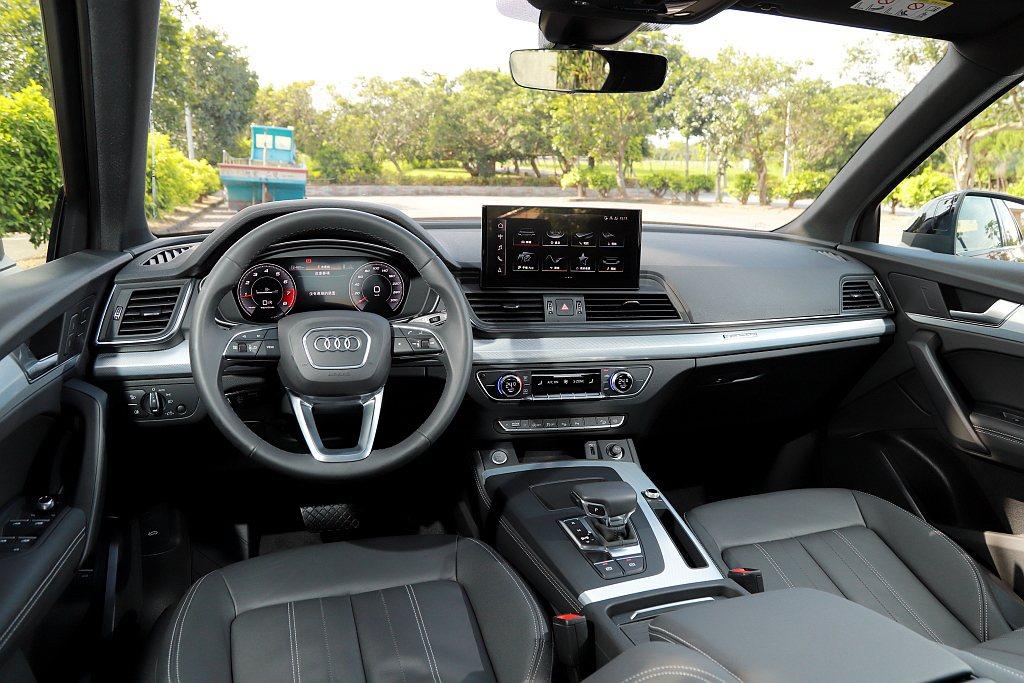 Audi Q5 Sportback將12.3吋Audi全數位虛擬駕駛座艙plus...
