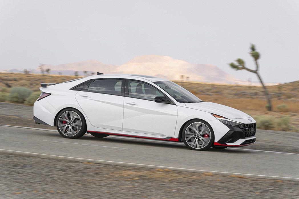 全新Hyundai Elantra N。圖為美規車型。 摘自Hyundai