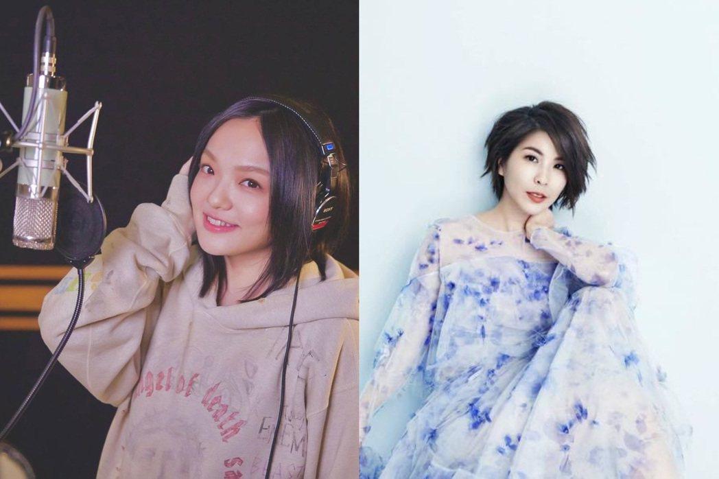 徐佳瑩、許茹芸都是決賽評審。圖/摘自IG