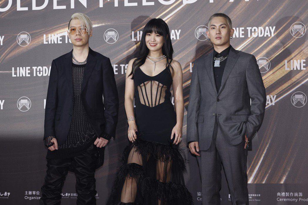 剃刀蔣RAZOR(左起)、孫盛希Shi Shi、米奇林MCKY。記者李政龍/攝影