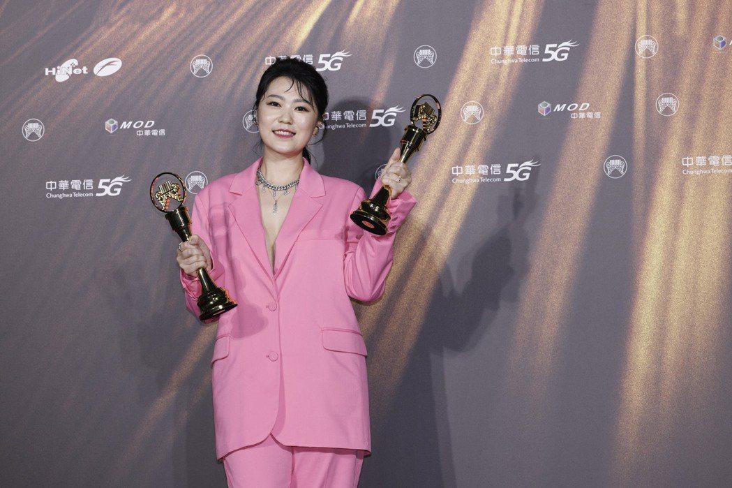 第32屆金曲獎最佳台語女歌手獎由曹雅雯獲得。記者李政龍/攝影