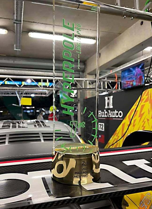 Pit Zone也有明顯國旗露出。 摘自HubAuto Racing臉書粉絲團