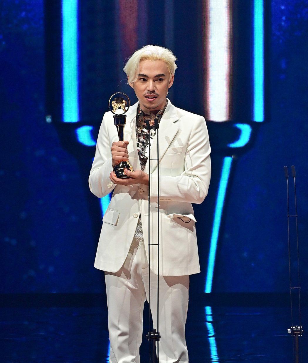 HUSH奪最佳作曲人獎。圖/台視提供