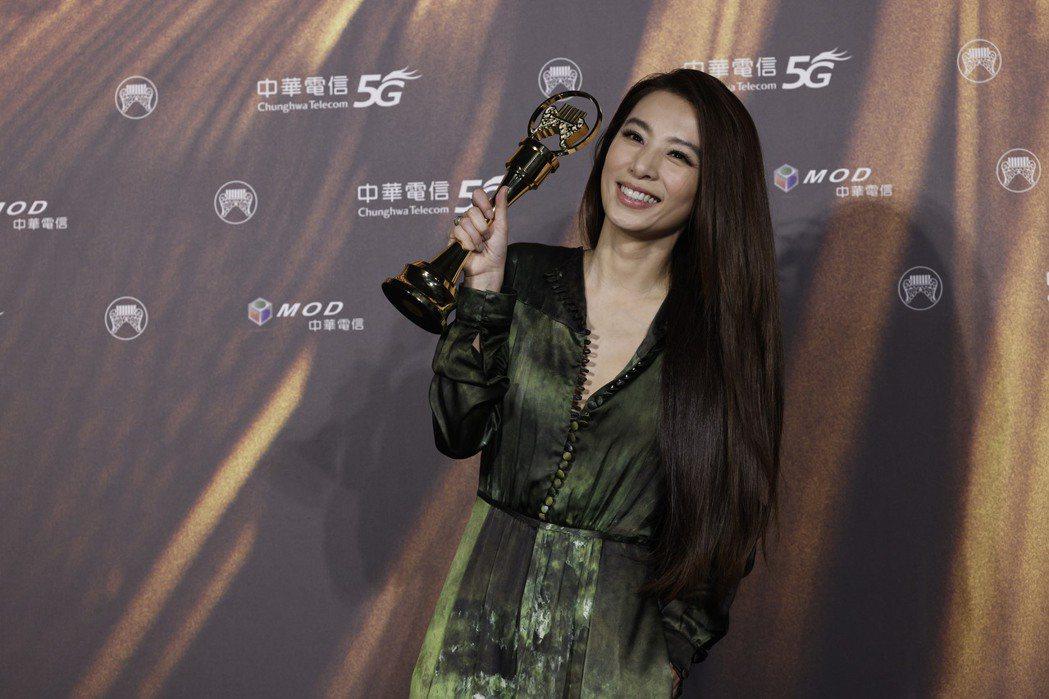 第32屆金曲獎最佳華語女歌手獎由田馥甄獲得。記者李政龍/攝影