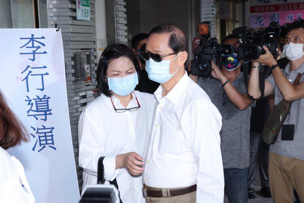 楊貴媚(左)、前中影總經理邱順清。記者王聰賢攝影