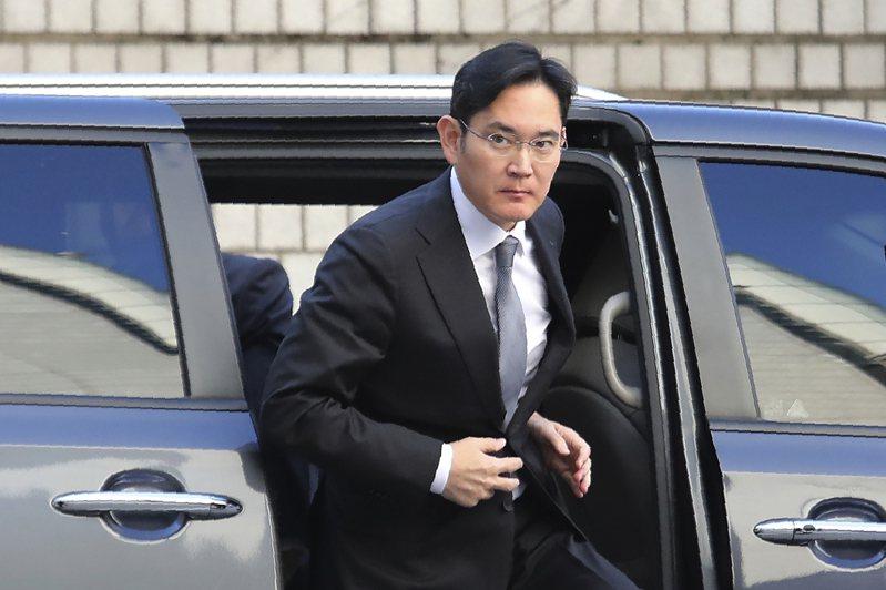 三星集團副會長李在鎔假釋出獄,圖為李在鎔二○一九年出庭。美聯社
