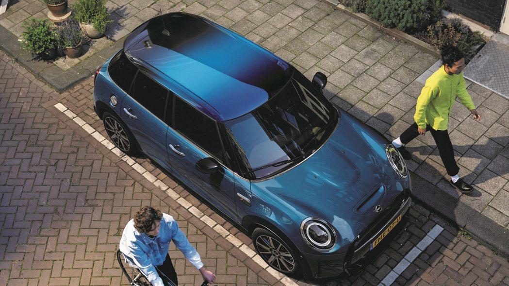 Multitone漸層式車頂完美展現MINI英國牛津廠頂尖車漆技術,定義全新潮流...