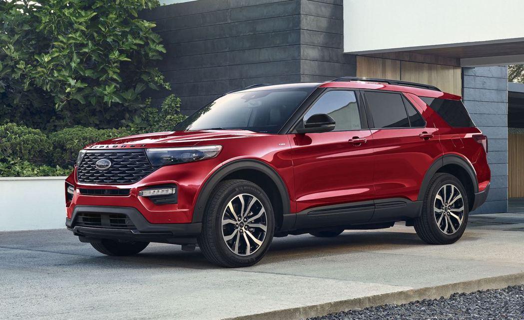 美規2022年式Ford Explorer。 圖/Ford提供