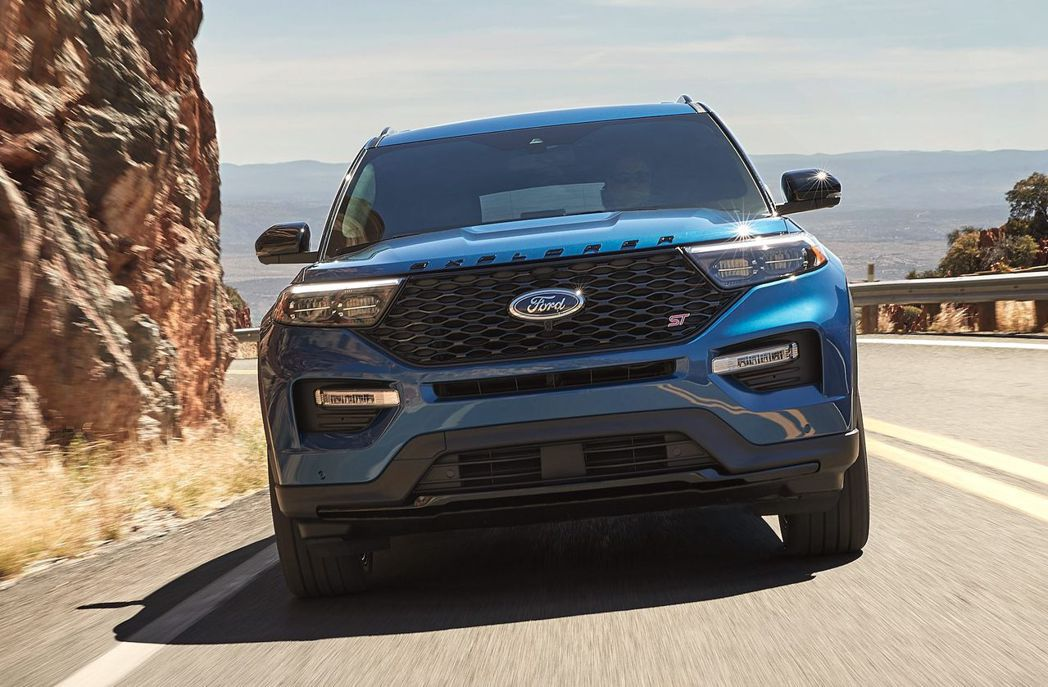 美規2022年式Ford Explorer ST新增後驅車型。 圖/Ford提供