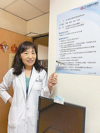光田醫院神經內科醫師柯麗櫻 圖/柯麗櫻提供