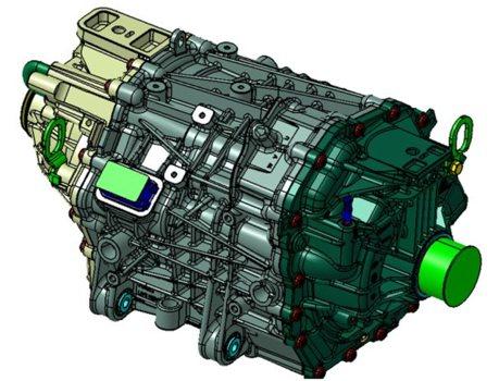 281匹馬力 體積更小!Ford Performance全新電動馬達曝光