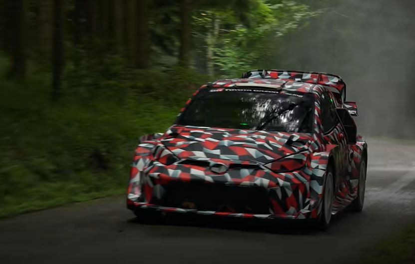 Toyota Yaris Rally1測試車 截自RFP Production影...