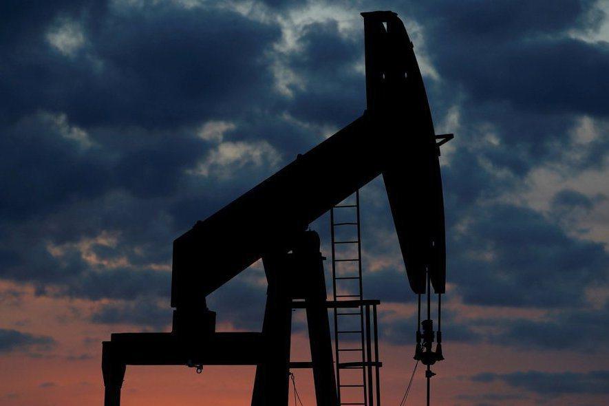 原油價格示意圖。路透