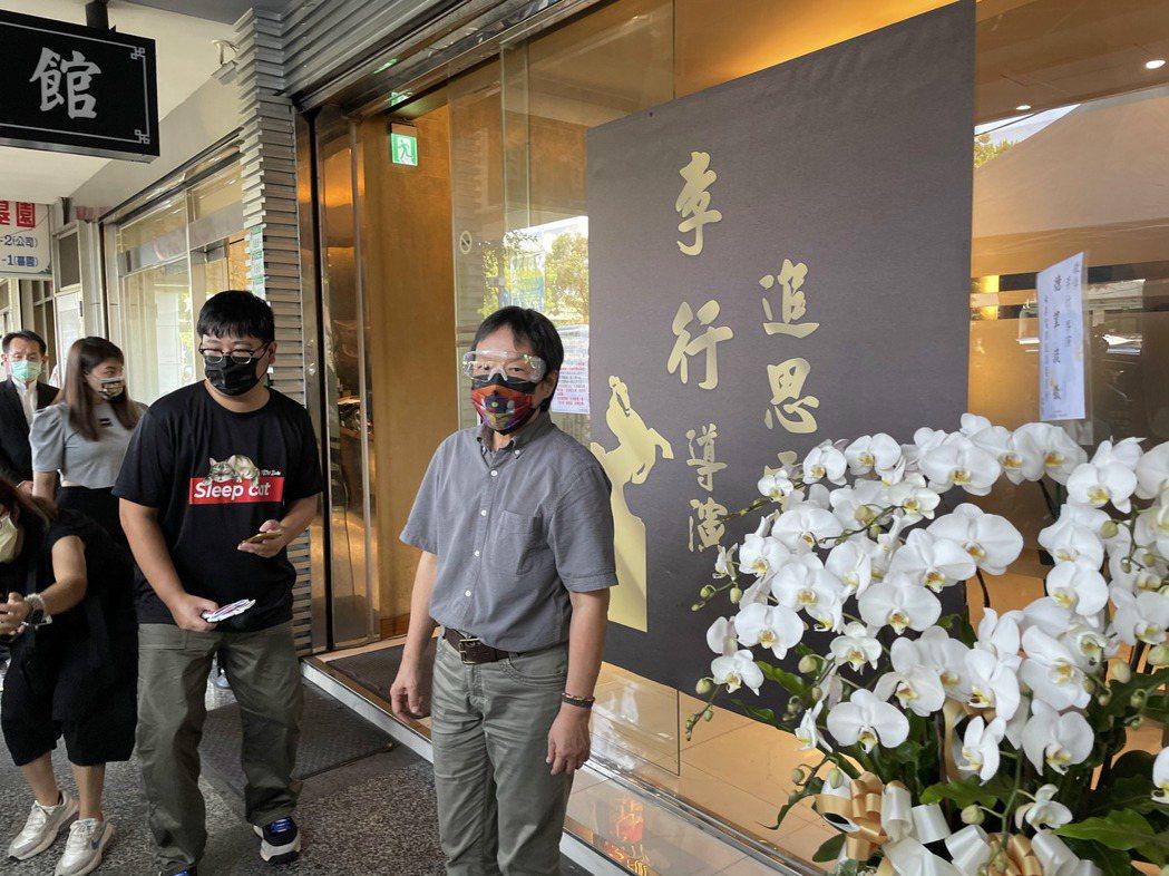王小棣來向敬重的導演前輩致意。記者蘇詠智/攝影
