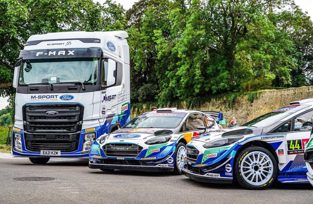 F-Max及Fiesta WRC。 摘自msportltd IG