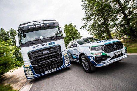 M-Sport福特WRC車隊新成員 F-MAX和 Ranger換上拉力賽塗裝