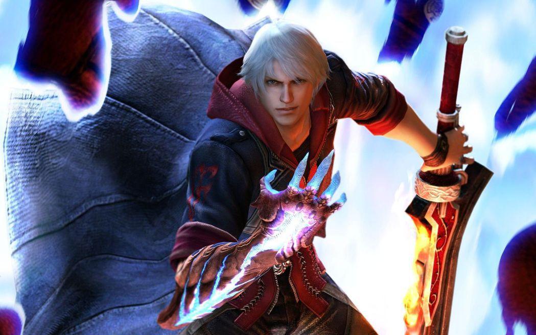 四代登場的主角尼洛(Nero),同樣使用大劍,並擁有惡魔之手,形象雖然和但丁類似...