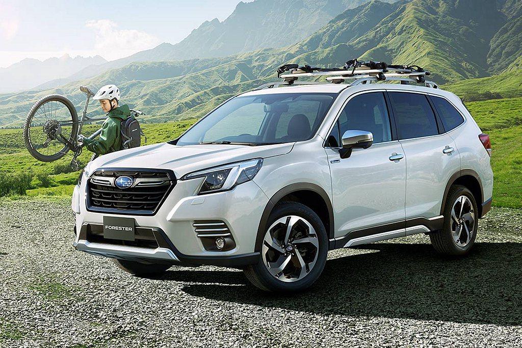 延續Subaru DYNAMIC x SOLID設計理念的BOLDER概念,小改...